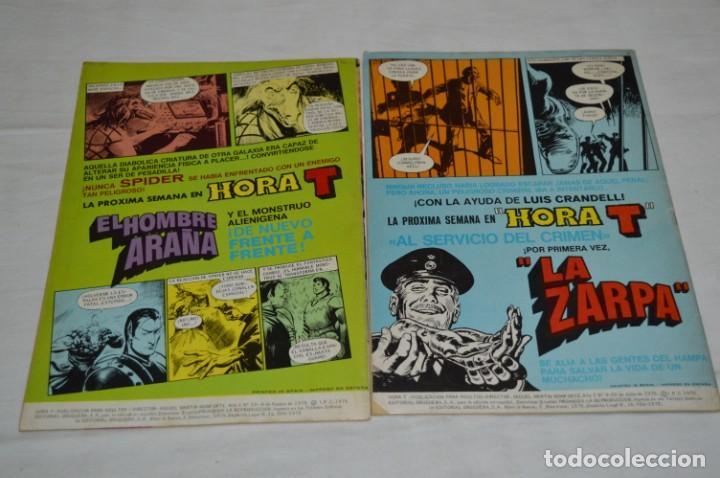 Tebeos: HORA T / BRUGUERA Año 1975 - Completa 12 Números / SPIDER y ZARPA de ACERO - Por JESÚS BLASCO ¡Mira! - Foto 12 - 250231400