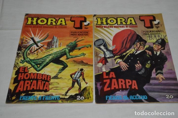 Tebeos: HORA T / BRUGUERA Año 1975 - Completa 12 Números / SPIDER y ZARPA de ACERO - Por JESÚS BLASCO ¡Mira! - Foto 13 - 250231400