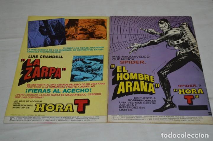 Tebeos: HORA T / BRUGUERA Año 1975 - Completa 12 Números / SPIDER y ZARPA de ACERO - Por JESÚS BLASCO ¡Mira! - Foto 14 - 250231400