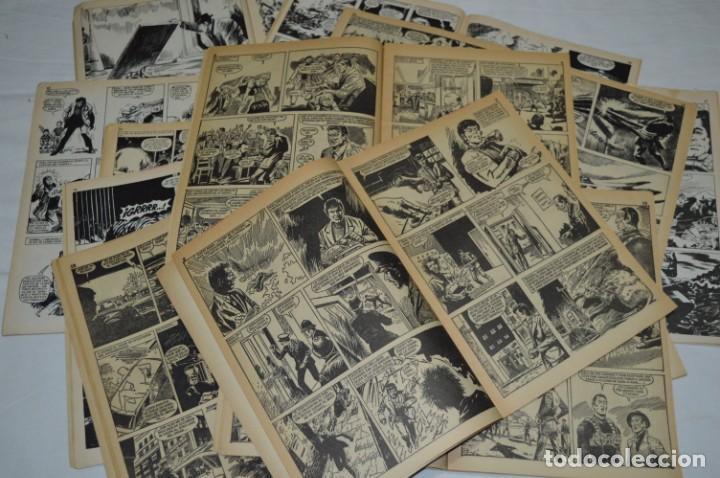 Tebeos: HORA T / BRUGUERA Año 1975 - Completa 12 Números / SPIDER y ZARPA de ACERO - Por JESÚS BLASCO ¡Mira! - Foto 15 - 250231400