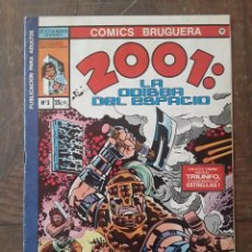 Tebeos: BRUGUERA COMICS. 2001: LA ODISEA DEL ESPACIO. N° 3. AÑO 1977.. Lote 251172340