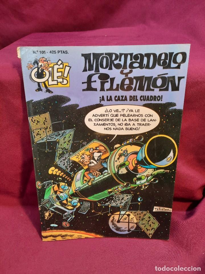 Tebeos: LOTE DE 28 COMICS MORTADELO Y FILEMON OLÉ! - Foto 9 - 278199513