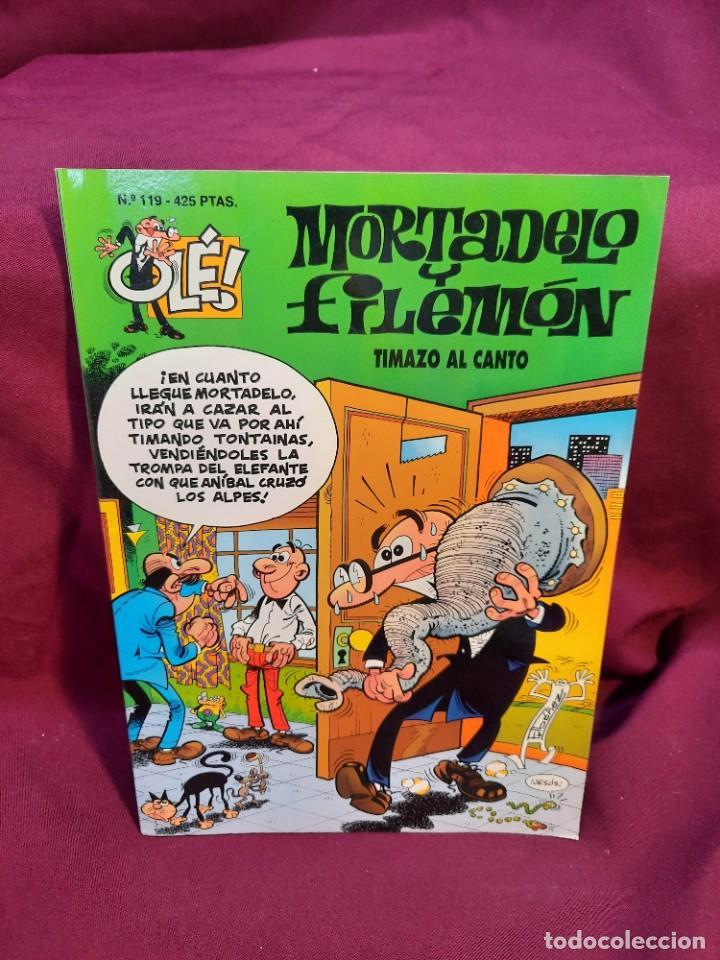 Tebeos: LOTE DE 28 COMICS MORTADELO Y FILEMON OLÉ! - Foto 11 - 278199513
