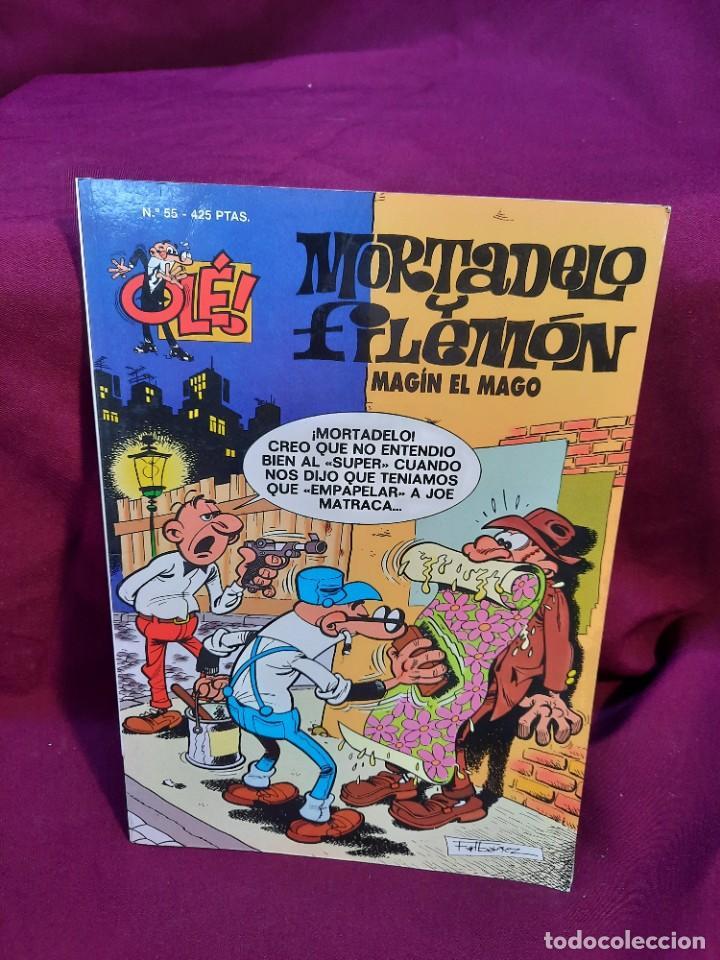 Tebeos: LOTE DE 28 COMICS MORTADELO Y FILEMON OLÉ! - Foto 13 - 278199513
