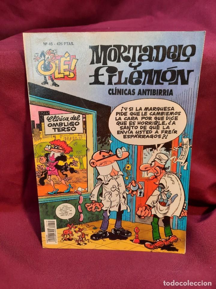 Tebeos: LOTE DE 28 COMICS MORTADELO Y FILEMON OLÉ! - Foto 15 - 278199513