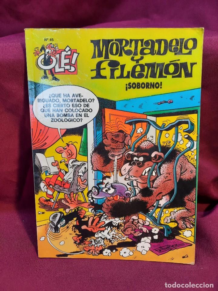 Tebeos: LOTE DE 28 COMICS MORTADELO Y FILEMON OLÉ! - Foto 18 - 278199513