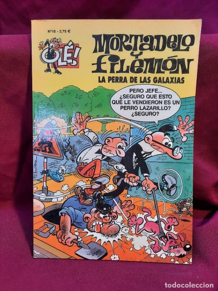 Tebeos: LOTE DE 28 COMICS MORTADELO Y FILEMON OLÉ! - Foto 20 - 278199513