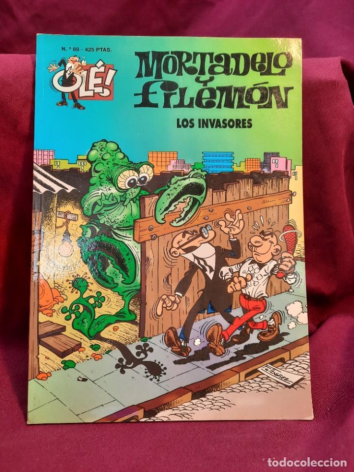 Tebeos: LOTE DE 28 COMICS MORTADELO Y FILEMON OLÉ! - Foto 24 - 278199513