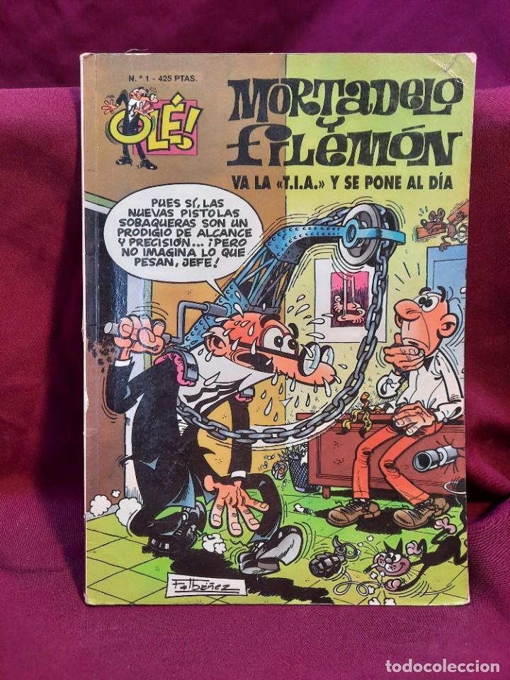 Tebeos: LOTE DE 28 COMICS MORTADELO Y FILEMON OLÉ! - Foto 30 - 278199513
