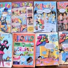 Tebeos: LOTE 8 TEBEOS BRUGUERA: MORTADELO, ESTHER, LILY, TIO VIVO Y ZIPI Y ZAPE. Lote 251197550