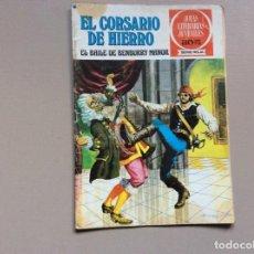 Livros de Banda Desenhada: EL CORSARIO DE HIERRO SERIE ROJA NUMERO 25. Lote 251230050