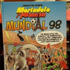 Tebeos: MORTADELO Y FILEMON - MUNDIAL DEL 98. Lote 251260490