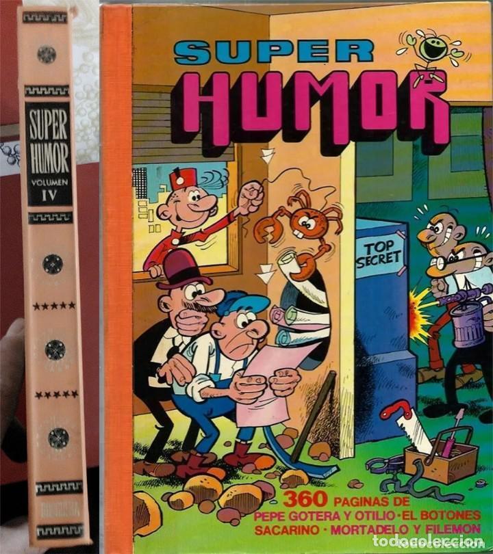 SUPER HUMOR N.º IV 4 BRUGUERA PRIMERA EDICION 1975 (Tebeos y Comics - Bruguera - Super Humor)