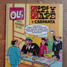 Tebeos: COMIC DE OLE ZIPI Y ZAPE Y CARPANTA DEL AÑO 1987 Nº 231 - Z.8. Lote 251326545