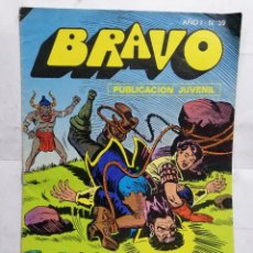 Tebeos: BRAVO, EL CACHORRO, EL MAREMOTO, AÑO 1 - Nº 39, 1976, 16 PAGINAS. Lote 251371015