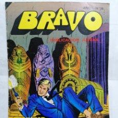 Tebeos: BRAVO, INSPECTOR DAN, AVENTURA EN AFRICA, AÑO 1 - Nº 36, 1976, 16 PAGINAS. Lote 251371345