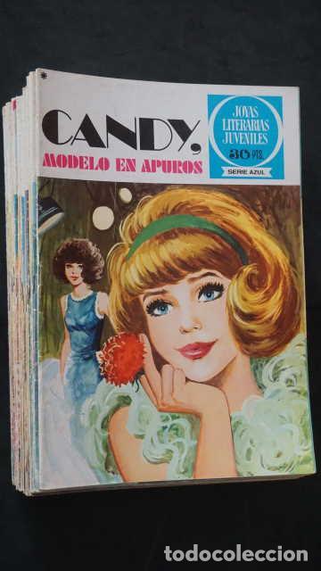 1 EDICION JOYAS LITERARIAS JUVENILES SERIE AZUL NUMERO 6 CANDY MODELO EN APUROS (Tebeos y Comics - Bruguera - Joyas Literarias)