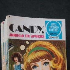 Tebeos: 1 EDICION JOYAS LITERARIAS JUVENILES SERIE AZUL NUMERO 6 CANDY MODELO EN APUROS. Lote 251528000