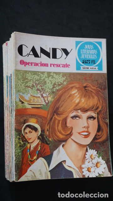 1 EDICION JOYAS LITERARIAS JUVENILES SERIE AZUL NUMERO 33 CANDY OPERACION RESCATE (Tebeos y Comics - Bruguera - Joyas Literarias)