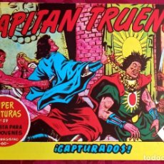 Giornalini: EL CAPITAN TRUENO - ORIGINAL - NÚM. 95 - CAPTURADOS - BUEN ESTADO. Lote 251545265