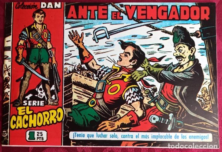 EL CACHORRO - ORIGINAL - AÑO 1957 - NÚM. 157 - ANTE EL VENGADOR - BUEN ESTADO (Tebeos y Comics - Bruguera - El Cachorro)