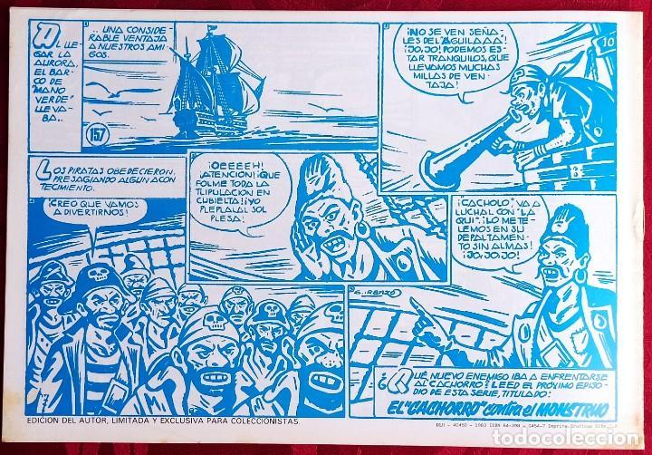 Tebeos: EL CACHORRO - ORIGINAL - Año 1957 - Núm. 157 - Ante el Vengador - Buen estado - Foto 3 - 251547575
