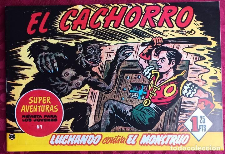 EL CACHORRO - ORIGINAL - AÑO 1957 - NÚM. 158 - LUCHANDO CONTRA EL MONSTRUO - BUEN ESTADO (Tebeos y Comics - Bruguera - El Cachorro)