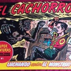 Tebeos: EL CACHORRO - ORIGINAL - AÑO 1957 - NÚM. 158 - LUCHANDO CONTRA EL MONSTRUO - BUEN ESTADO. Lote 251547690