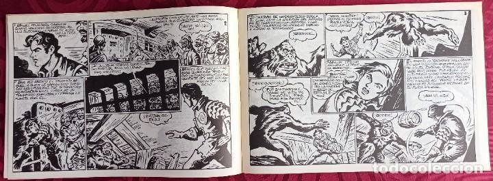 Tebeos: EL CACHORRO - ORIGINAL - Año 1957 - Núm. 158 - Luchando contra el monstruo - Buen estado - Foto 3 - 251547690