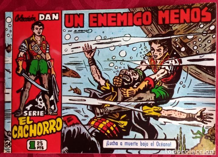 EL CACHORRO - ORIGINAL - AÑO 1957 - NÚM. 154 - UN ENEMIGO MENOS - BUEN ESTADO (Tebeos y Comics - Bruguera - El Cachorro)