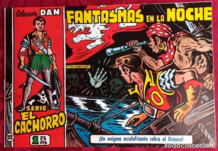 EL CACHORRO - ORIGINAL - AÑO 1957 - NÚM. 155 - FANTASMAS DE LA NOCHE - BUEN ESTADO (Tebeos y Comics - Bruguera - El Cachorro)