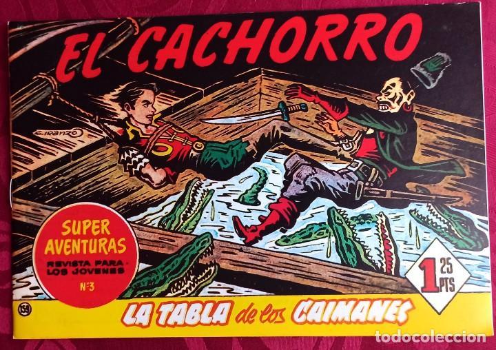 EL CACHORRO - ORIGINAL - AÑO 1957 - NÚM. 159 - LA TABLA DE LOS CAIMANES - BUEN ESTADO (Tebeos y Comics - Bruguera - El Cachorro)