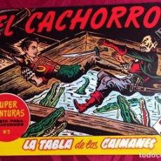 Tebeos: EL CACHORRO - ORIGINAL - AÑO 1957 - NÚM. 159 - LA TABLA DE LOS CAIMANES - BUEN ESTADO. Lote 251548035