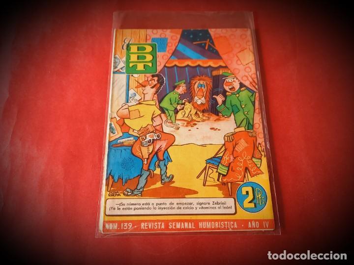 EL DDT Nº 139 -EXCELENTE ESTADO (Tebeos y Comics - Bruguera - DDT)
