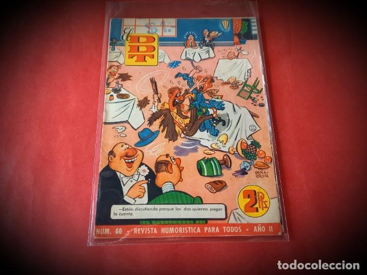 EL DDT Nº 66 -EXCELENTE ESTADO (Tebeos y Comics - Bruguera - DDT)