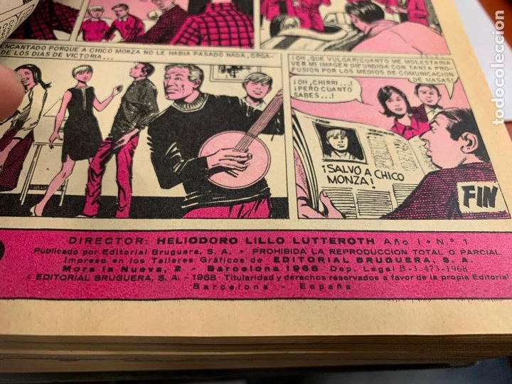 Tebeos: Revista juvenil BRAVO, del 1 al 45, año 1968. Originales, magnifico estado. Dificiles. Leer mas... - Foto 3 - 251856525