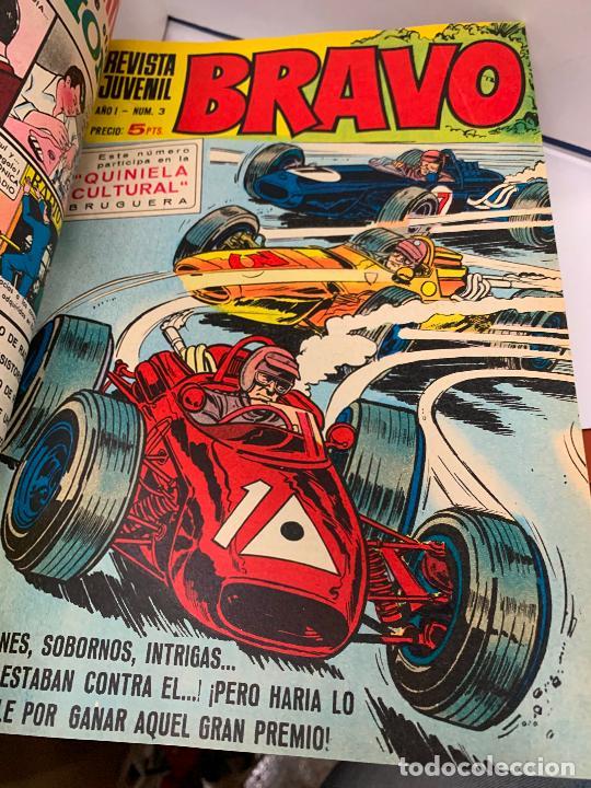 Tebeos: Revista juvenil BRAVO, del 1 al 45, año 1968. Originales, magnifico estado. Dificiles. Leer mas... - Foto 5 - 251856525