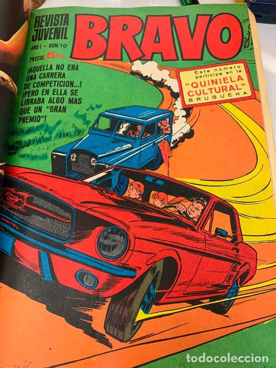 Tebeos: Revista juvenil BRAVO, del 1 al 45, año 1968. Originales, magnifico estado. Dificiles. Leer mas... - Foto 12 - 251856525