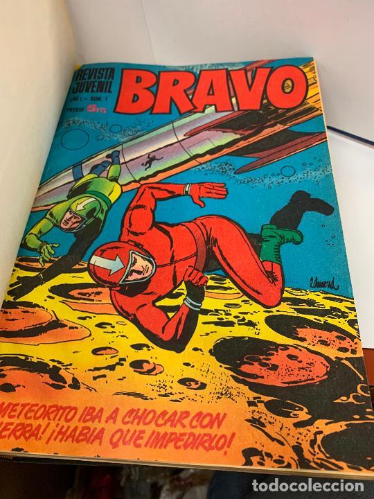 REVISTA JUVENIL BRAVO, DEL 1 AL 45, AÑO 1968. ORIGINALES, MAGNIFICO ESTADO. DIFICILES. LEER MAS... (Tebeos y Comics - Bruguera - Bravo)