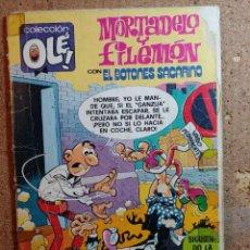Tebeos: COMIC DE OLE MORTADELO Y FILEMON CON EL BOTONES SACARINO DEL AÑO 1983 Nº 202. Lote 251920785
