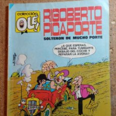 Tebeos: COMIC DE OLE RIGOBERTO PICAPORTE SOLTERON DE MUCHO PORTE DEL AÑO 1984 Nº 7. Lote 251921975