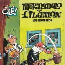 Tebeos: MORTADELO Y FILEMON Nº 53 LOS BOMBEROS. OLE. Lote 251941945