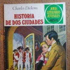Tebeos: COMIC DE JOYAS LITERARIAS JUVENILES HISTORIA DE DOS CIUDADES DEL AÑO 1979 Nº 3. Lote 251987065