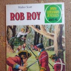 Tebeos: COMIC DE JOYAS LITERARIAS JUVENILES ROB ROY DEL AÑO 1979 Nº 11. Lote 251987910