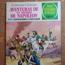 Tebeos: COMIC DE JOYAS LITERARIAS JUVENILES AVENTURAS DE UN SOLDADO DE NAPOLEON DEL AÑO 1974 Nº 15. Lote 251988550
