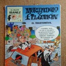 Tebeos: COMIC EL MEJOR IBAÑEZ MORTADELO Y FILEMON EN TRASTOMOVIL Nº 1. Lote 252021650