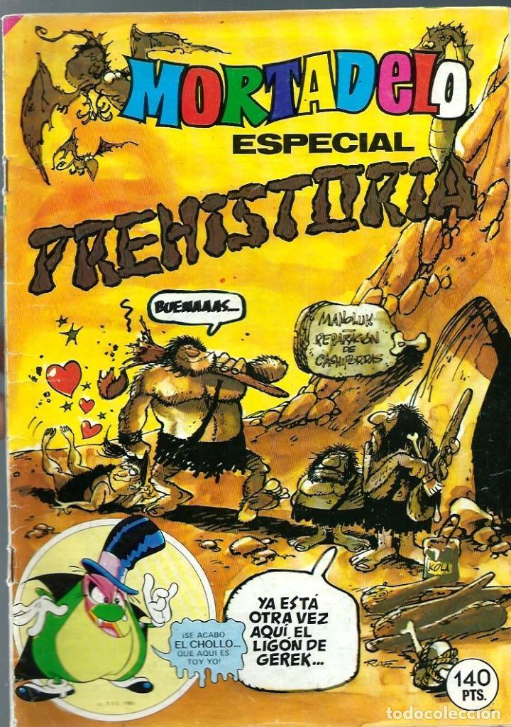 MORTADELO ESPECIAL Nº 191 - PREHISTORIA - BRUGUERA 1985 (Tebeos y Comics - Bruguera - Mortadelo)