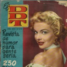 Tebeos: EL DDT Nº 379 - BRUGUERA 1958 - KATHLEEN HUGHES EN PORTADA. Lote 252036735
