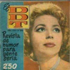 Tebeos: EL DDT Nº 395 - BRUGUERA 1958 - ANNE VERNON EN PORTADA. Lote 252036970