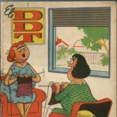 Tebeos: EL DDT Nº 400 - BRUGUERA 1959 - PORTADA DE NADAL. Lote 252037230